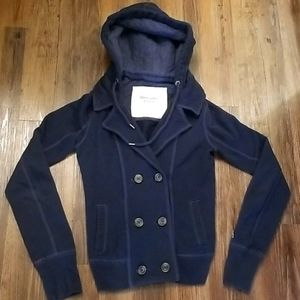 Abercrombie and Fitch Peacoat XS